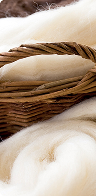 Възглавница White Boutique - Wool Comfort