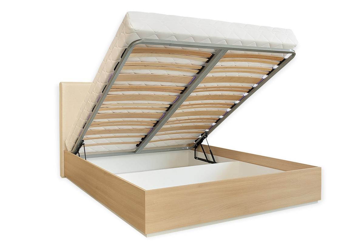 Тапицирано легло Порто с ракла и повдигащ механизъм