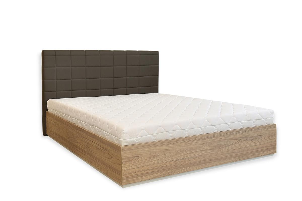 Тапицирано легло Лион с ракла и повдигащ механизъм