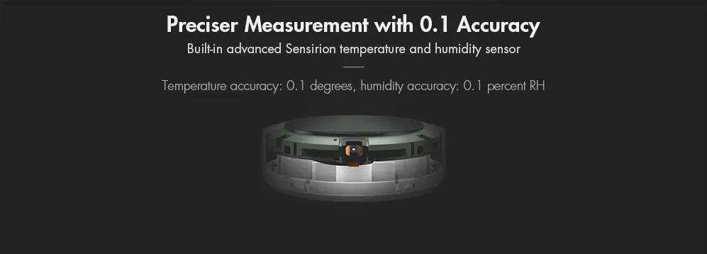 Уред за измерване на температура и влажност на въздуха Xiaomi Mi Temperature and Humidity Monitor